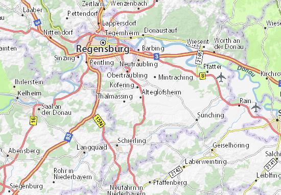 Alteglofsheim Map