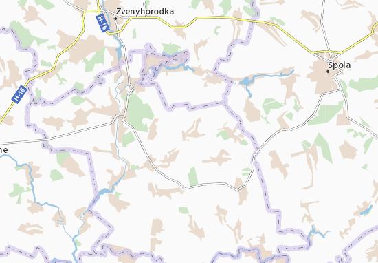 Carte-Plan Viknyne