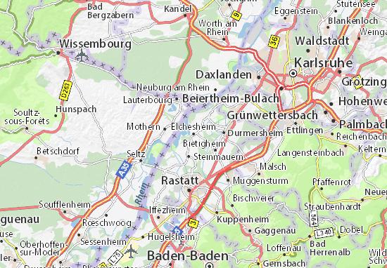 Elchesheim Map