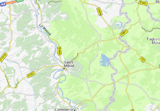Kaart Plattegrond Valbois