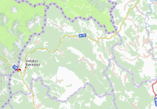 Vyška Map