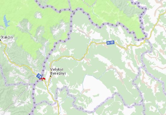 Kostryna Map