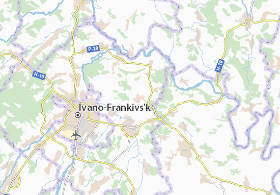 Mapas-Planos Vil'shanytsya