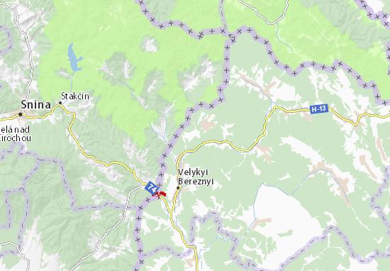 Strychava Map
