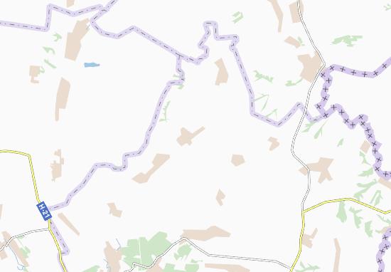 Mapas-Planos Velyka Chernihivka