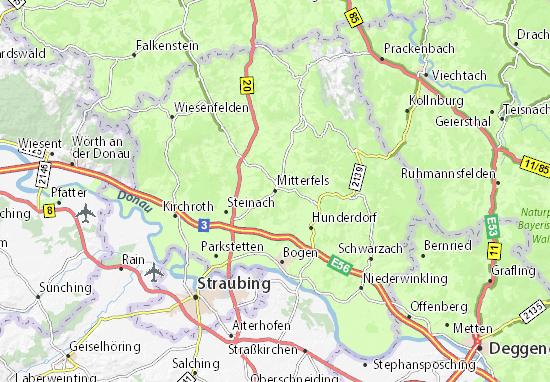 Mitterfels Map