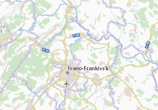 Mapas-Planos Kolodiivka