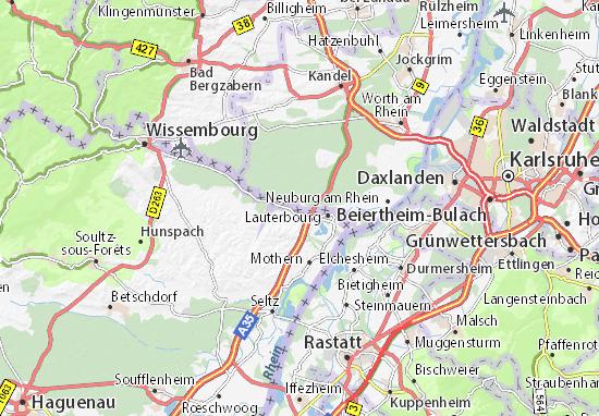 Scheibenhardt Map