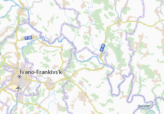 Mapas-Planos Petryliv