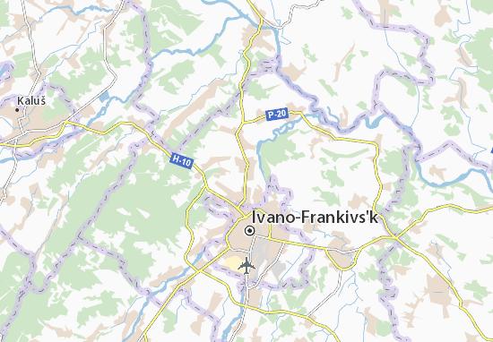 Mapas-Planos Yamnytsya