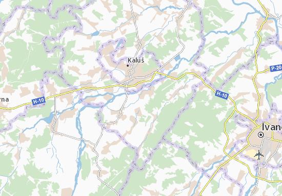 Pidmykhailya Map