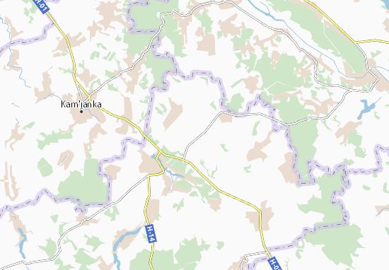 Mapas-Planos Severynivka