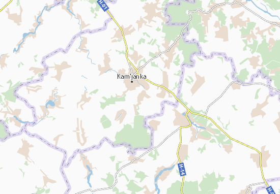 Yurchykha Map
