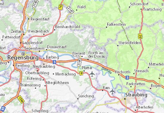 Wiesent Map