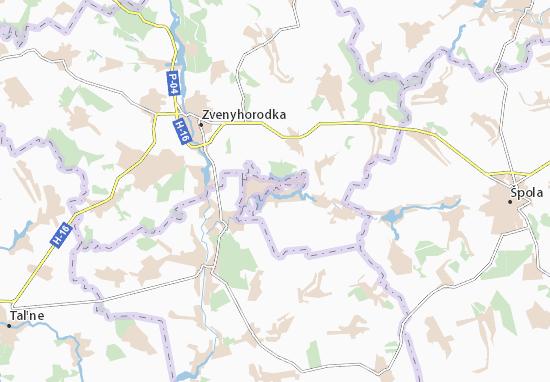 Mapas-Planos Vatutine