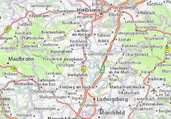 Carte-Plan Walheim