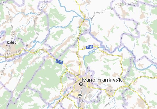 Mapas-Planos Tyaziv