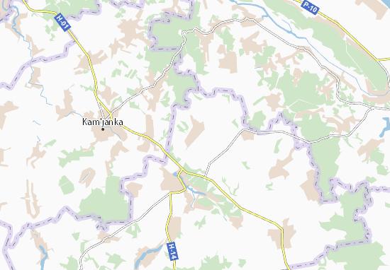 Stara Osota Map