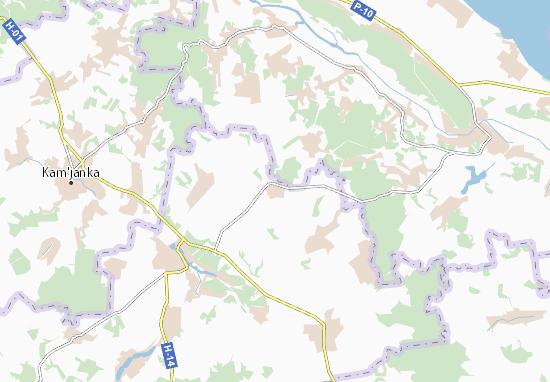Trylisy Map