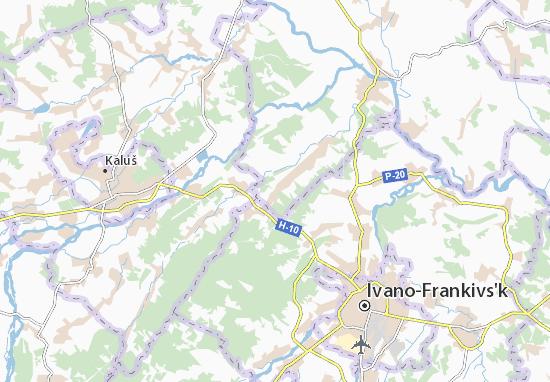 Mapas-Planos Vysochanka