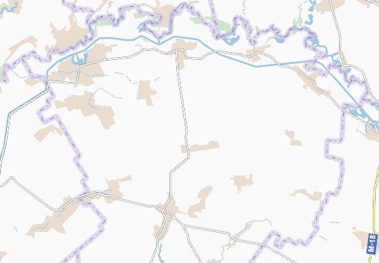 Carte-Plan Vynohradivka
