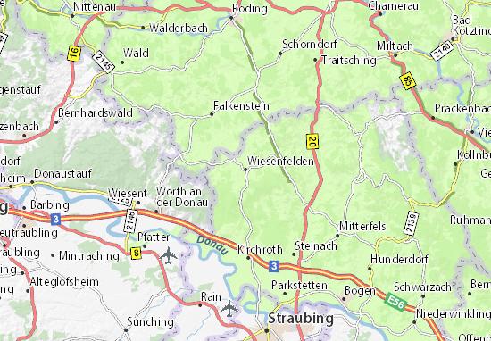 Wiesenfelden Map