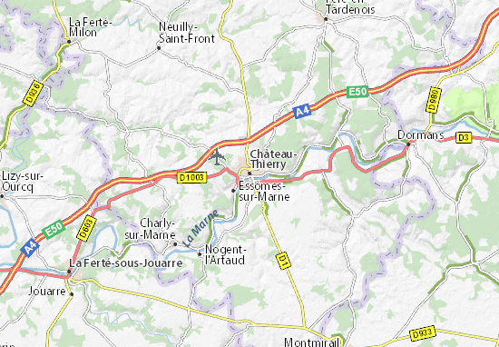 Mappe-Piantine Château-Thierry