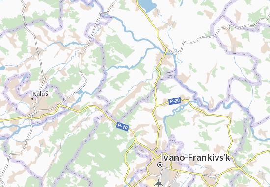 Mapas-Planos Viktoriv