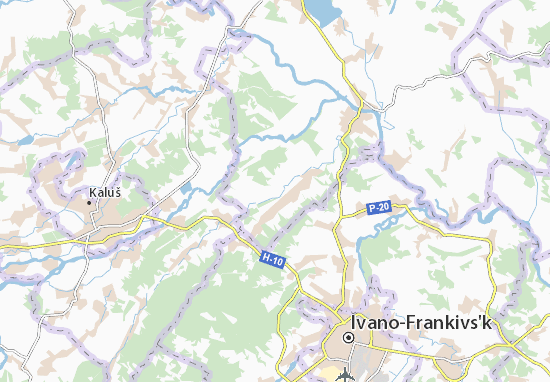 Mapas-Planos Sapohiv