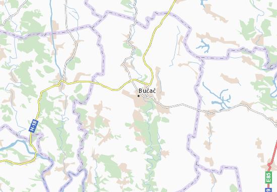 Mapas-Planos Bučač