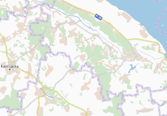 Mapas-Planos Matviivka