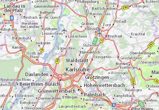 Blankenloch Map