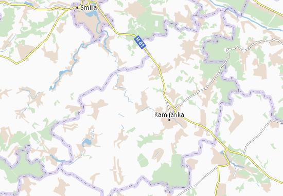 Revivka Map