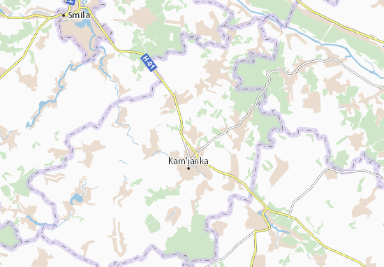 Mappe-Piantine Rebedailivka