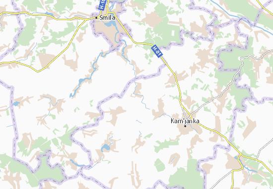 Raihorod Map