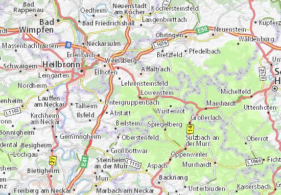 Mapas-Planos Löwenstein
