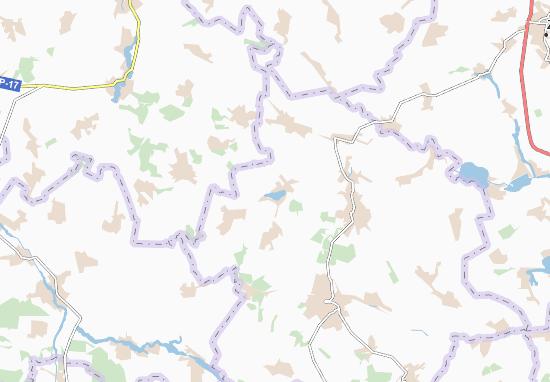 Carte-Plan Knyazha Krynytsya