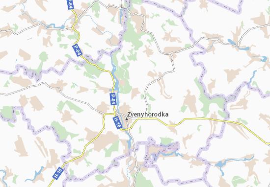Mapas-Planos Hudzivka