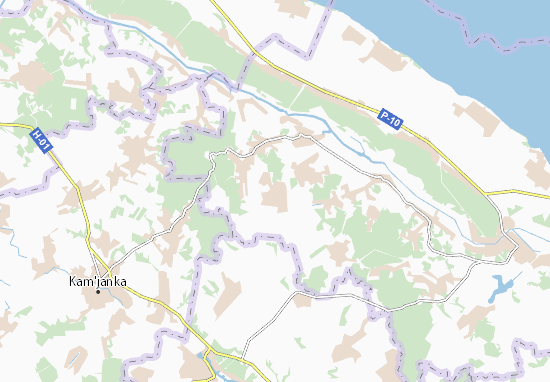 Carte-Plan Holovkivka