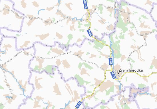 Mapas-Planos Vodyanyky
