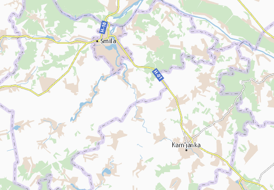 Mapas-Planos Bereznyaky