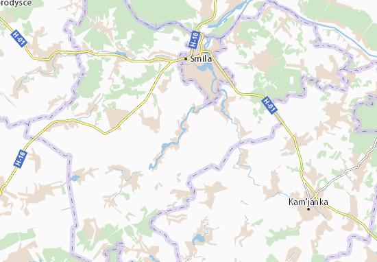 Mapas-Planos Ternivka