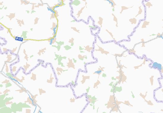 Carte-Plan Sabarivka