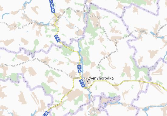 Mapas-Planos Khlypnivka
