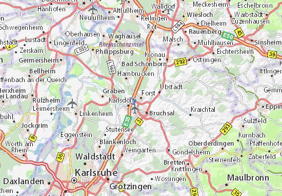 Mappe-Piantine Forst