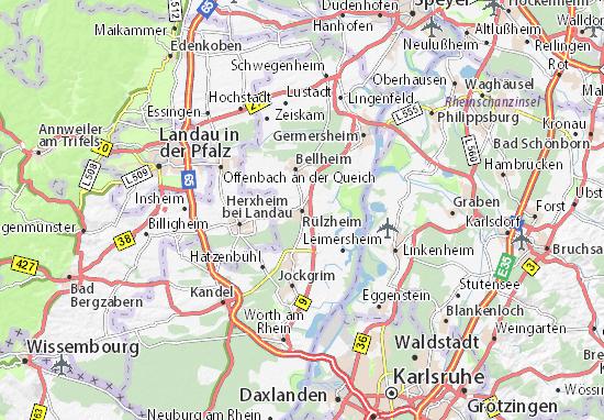 Mapas-Planos Rülzheim