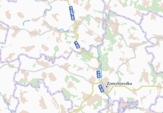 Mapas-Planos Oleksandrivka