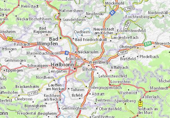 Carte-Plan Erlenbach