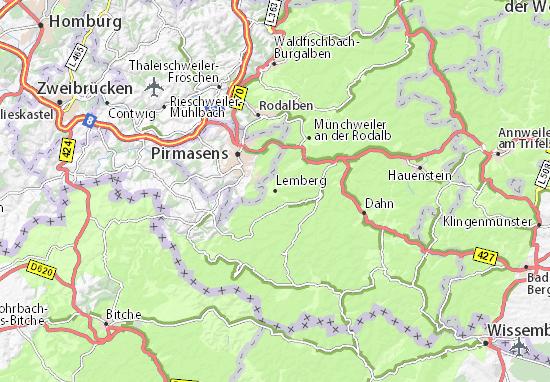Kaart Plattegrond Lemberg