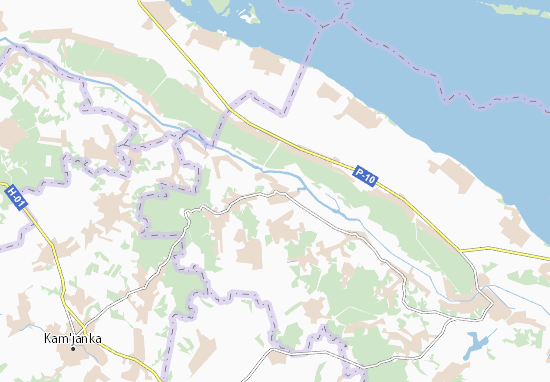 Mapas-Planos Medvedivka